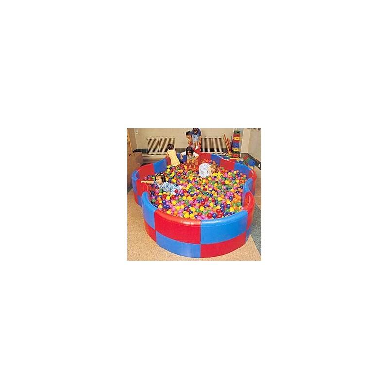Piscina sensorial de educación infantil forma de OCHO Alto 52 cm