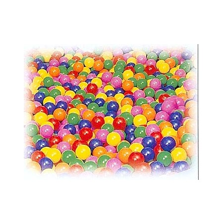 500 pelotas llenado piscina sensorial 1 color 85 mm