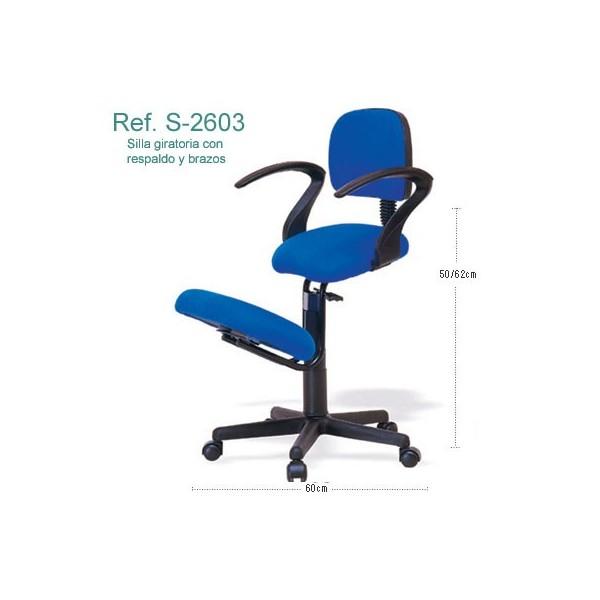 Silla ergon mica ecopostural s2603 for Sillas ergonomicas con apoyo lumbar
