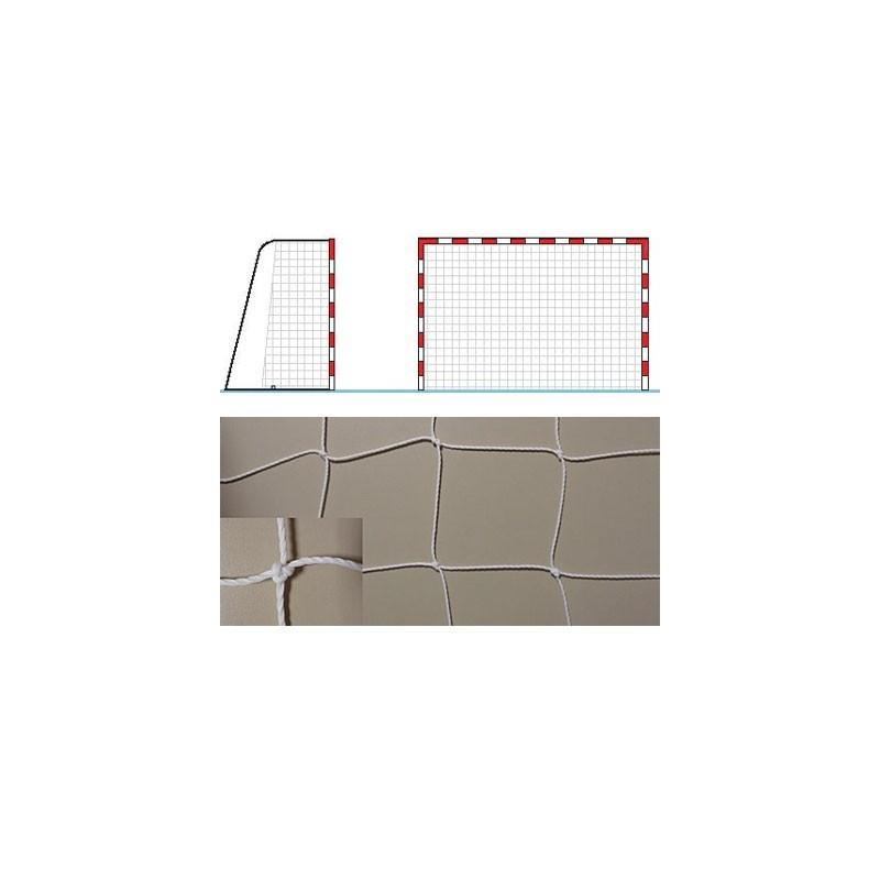 Red portería balonmano fútbol sala polietileno hilo 3,5mm standard