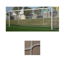 Redes porterías fútbol 11 cajón polipropileno de 4mm malla 120mm