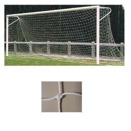 Redes porterías fútbol 11 arquillos polietileno de 3mm malla 140mm
