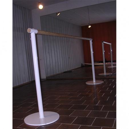Instalación de barras de ballet trasladables o móviles