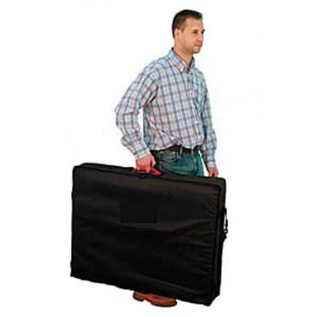 Funda transporte sencilla para camilla plegable 182 x 70 cm.
