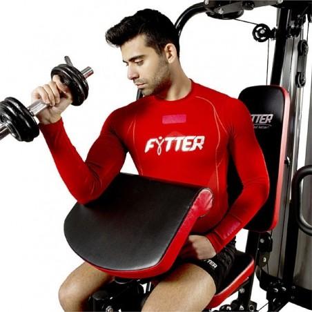 Multiestación de musculación con pupitre bíceps Fytter BENCH BE-H8R