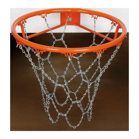 Juego red baloncesto galvanizada antivandalica street basket 12 gancho