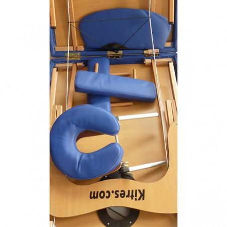 Complementos de la camilla plegable aluminio masaje y terapia Kitres AT008