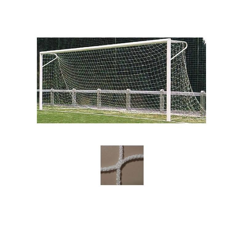 Redes porterías fútbol 7 arquillos polipropileno de 3mm malla 120mm