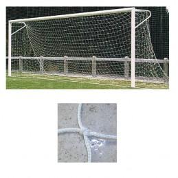 Redes porterías fútbol 7 arquillos nylon de 3mm malla 120mm
