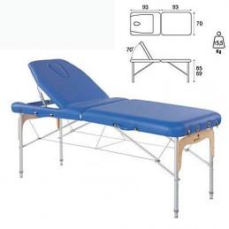 Camilla plegable aluminio masaje y terapia Ecopostural C3814M63