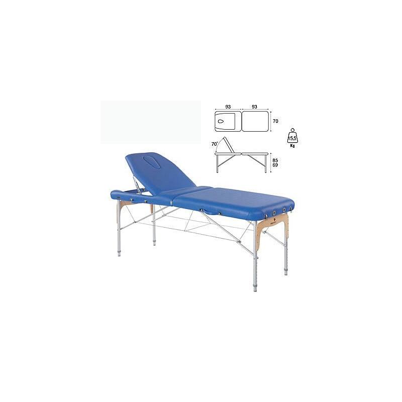 Camilla plegable aluminio masaje y terapia Ecopostural C3814
