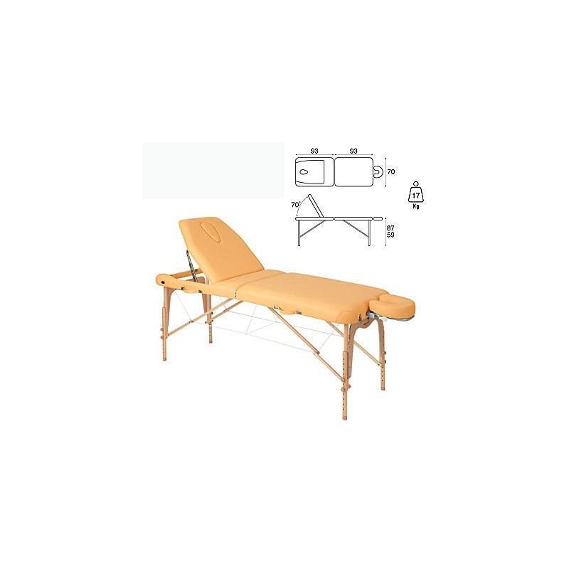 Camilla plegable madera Ecopostural C3616
