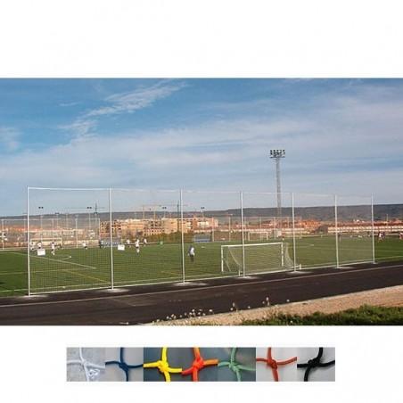 Red protección para campos de futbol, balonmano oficial Nylon malla 120x120 mm hilo 3 mm