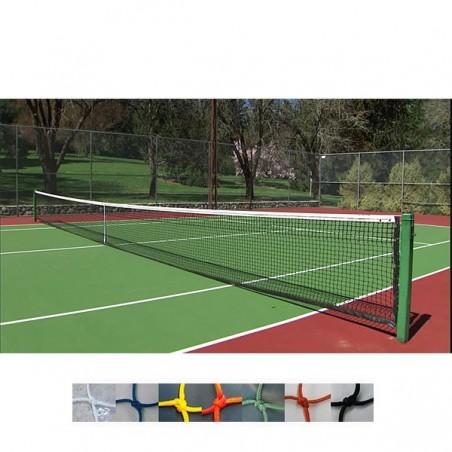 Redes de seguridad y protección para pistas tenis, padel, frontenis nylon 3mm y malla 40x40mm