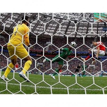 Redes porterías fútbol 11 malla hexagonal