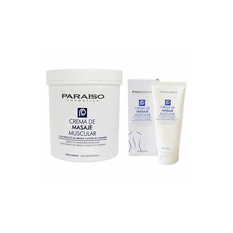 Crema masaje muscular calmante profesional Paraíso 13IB25 500/1000 ml