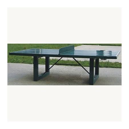 Mesa de exterior antivandálica para ping pong