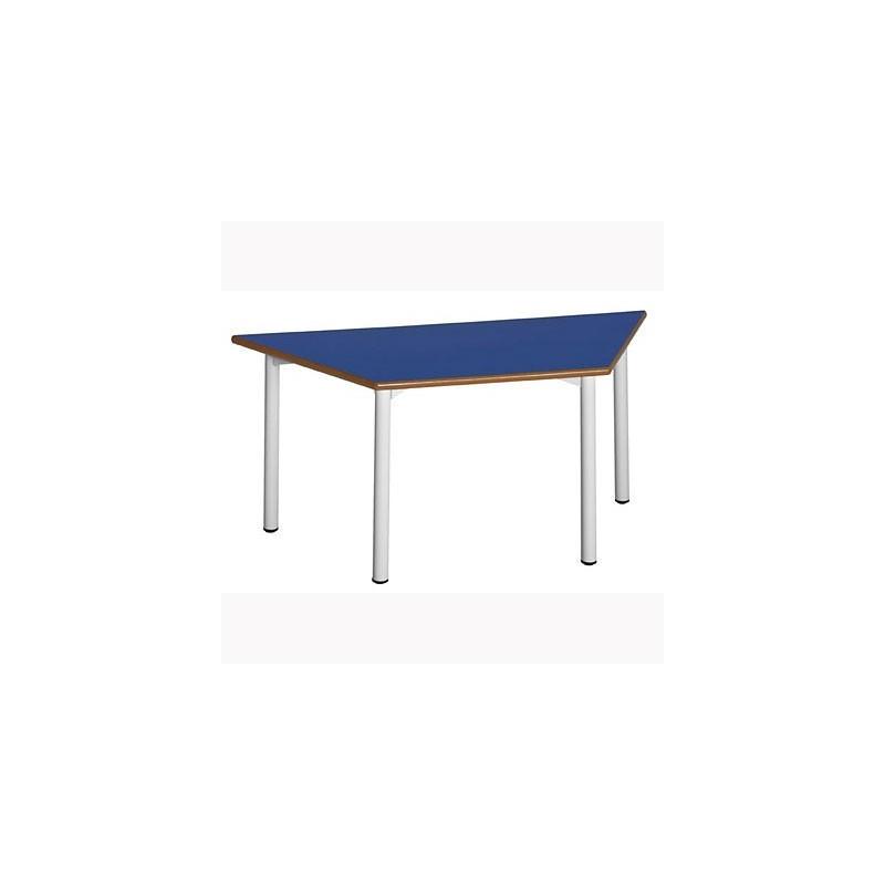 Mesa escritorio escolar trapezoidal 19T