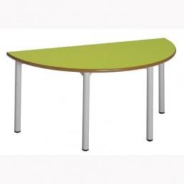 Mesa escritorio escolar semicircular 19SC