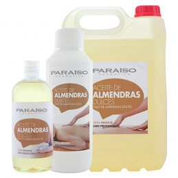 Aceite almendras dulces para masaje profesional Paraíso  500ml