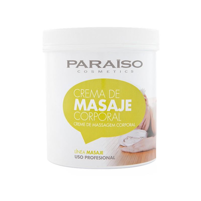 Crema masaje corporal profesional Paraíso 13IB01 1000 ml