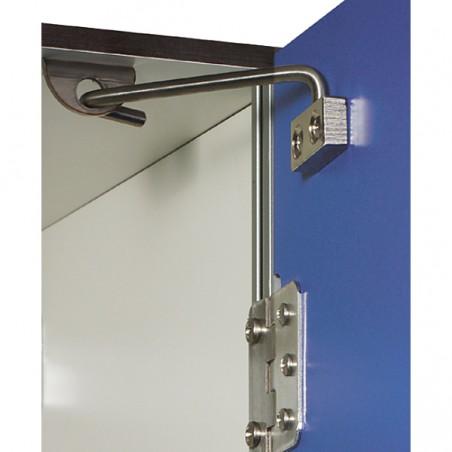 Bisagras o limitadores de las puertas de las taquillas fenólicas de 2 puertas