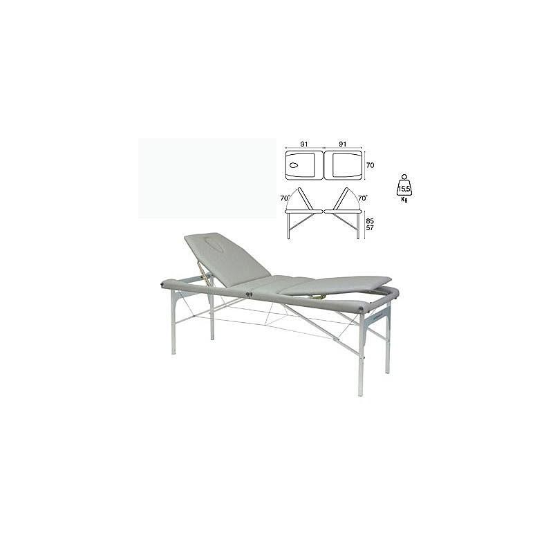 Camilla plegable aluminio masaje y terapia Ecopostural C3413