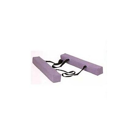 Cojines apoyabrazos para camillas 60 x 7 x 7 cm