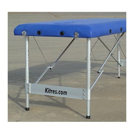Camilla plegable aluminio masaje y terapia Kitres AT003 detalle patas