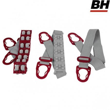 Cinta vibromasaje relax uso regular 3 cintas BH Tactiletonic Pro G225