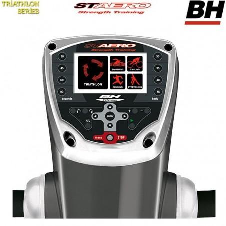 Monitor de la plataforma vibratoria uso intensivo BH YV20T ST Aero triplano YV20T