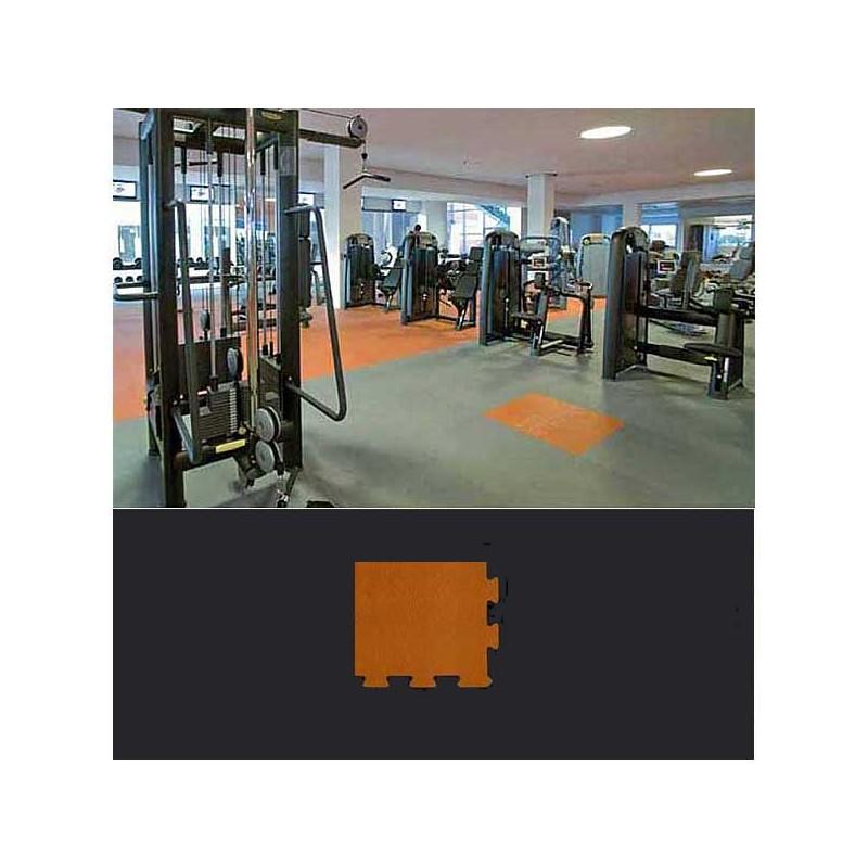 Esquina de remate para suelo gimnasio fitness 10x10x0,7 cm