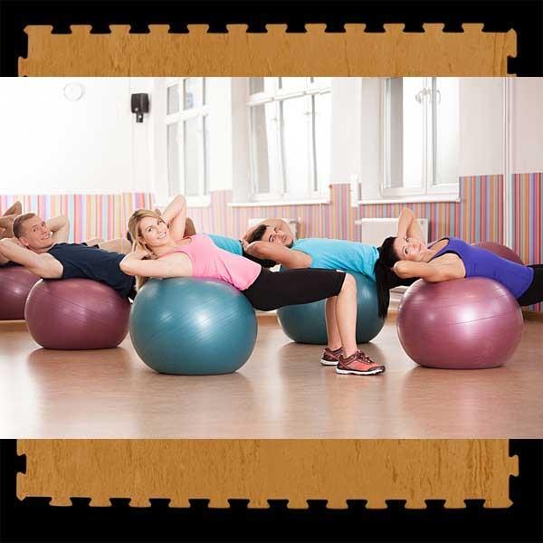 loseta suelo gimnasio pilates yoga 100x100x2 cm