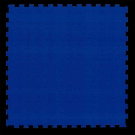 Pavimento suelo técnico de gimnasio para pilates, yoga o estiramientos 100x100x2 cm color Azul