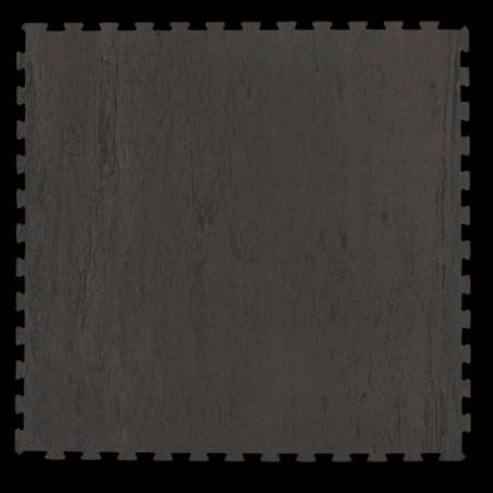 Pavimento para suelo gimnasio aerobic loseta de 100X100X1 cm Mármol gris