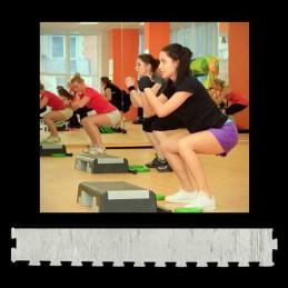 Perfil suelo gimnasio aerobic 12x100x1 cm