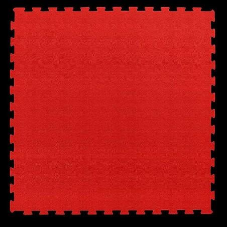 Pavimento suelo para zona de juegos infantiles, guardería psicomotricidad 100x100x2 cm Rojo