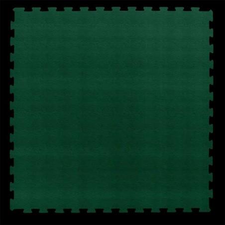 Loseta suelo gimnasio fitness 100x100x1,5 cm color Verde