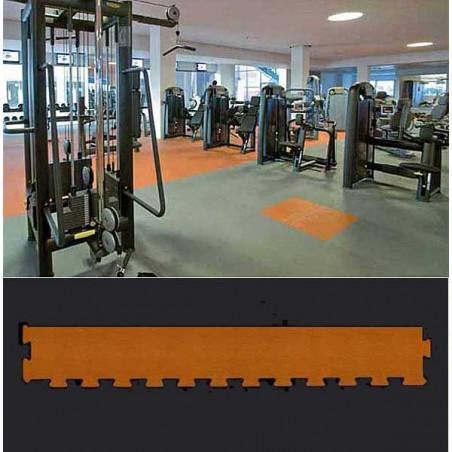 Perfil suelo gimnasio fitness 12x100x1,5 cm