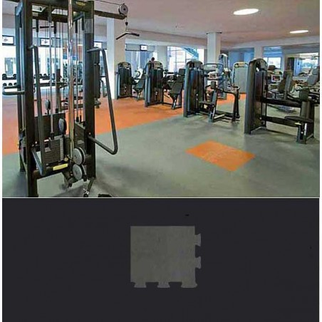 Esquina cuña suelo gimnasio fitness 30x30x1,5 cm