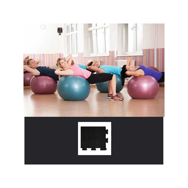 Esquina de remate en forma de cuña para acabado de suelo gimnasio pilates yoga 15x12x2 cm