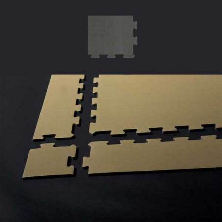 Esquina de remate en forma de cuña para acabado de suelo gimnasio pilates yoga 15x12x2 cm Gaviota