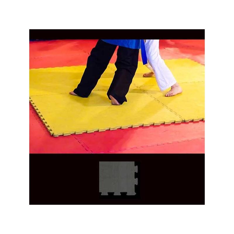 Esquina de acabado para pavimento suelo o tatami para artes marciales 12x12x2 ó 3 cm