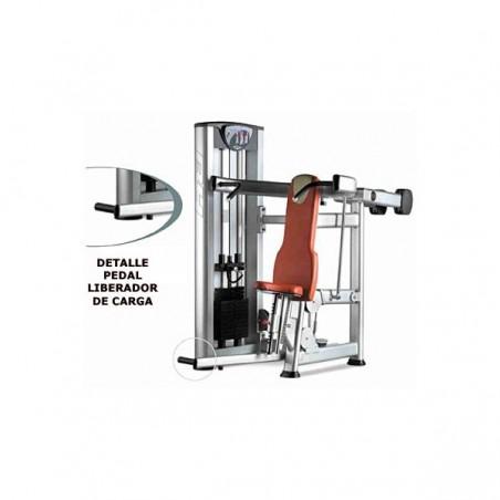 Máquina de musculación Press hombros BH X090