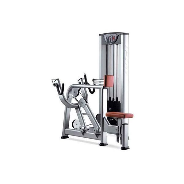 M quina de musculaci n remo sentado apoyo pecho bh x290 for Maquinas de musculacion