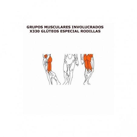 Máquina musculación profesional Glúteos (especial de rodillas) BH X330