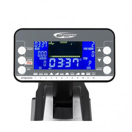 Monitor de la máquina de remar remo para utilización en gimnasios, centros deportivos u hoteles BH Rower LK5000 G500