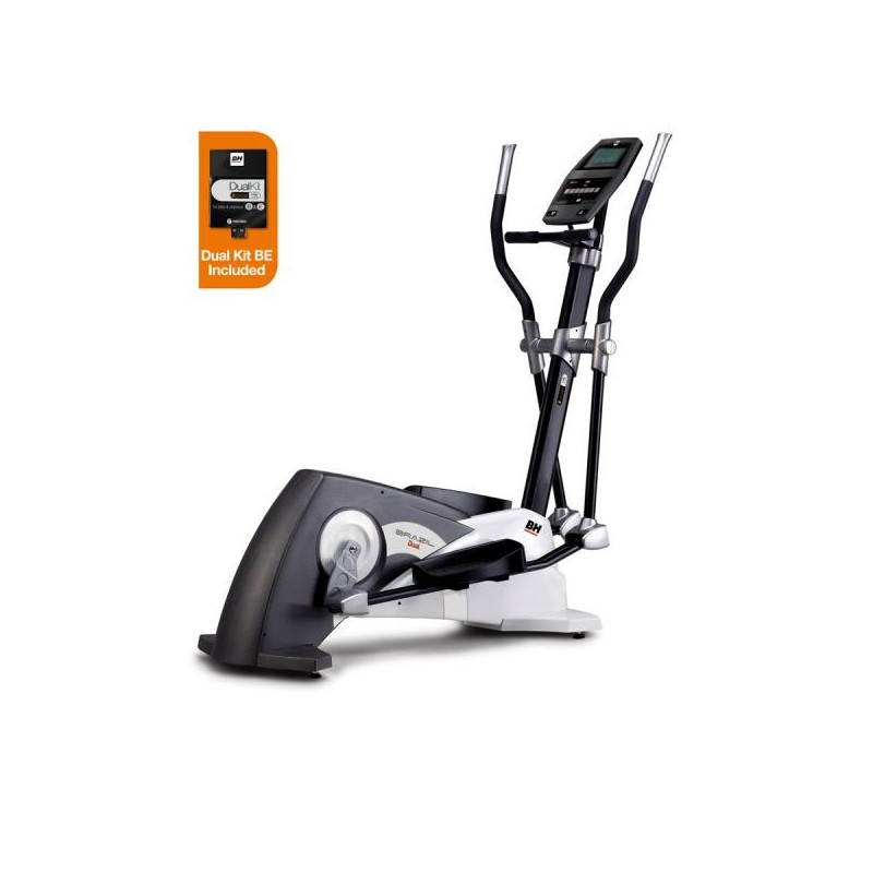 Bicicleta elíptica uso doméstico BH Brazil Dual + Dual Kit WG2375U