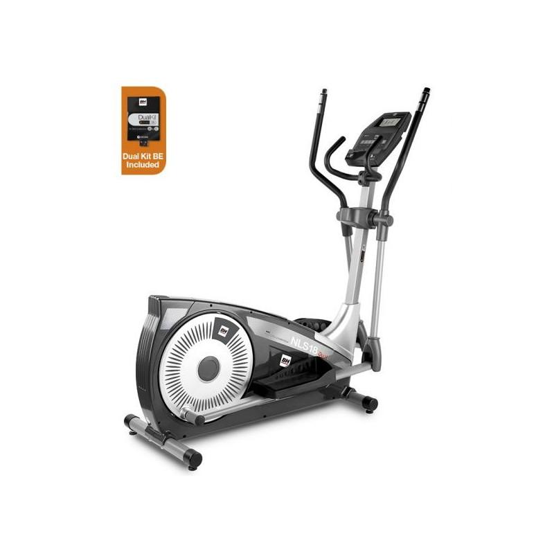Bicicleta elíptica uso doméstico BH NLS18 Dual con Dual Kit WG2382U