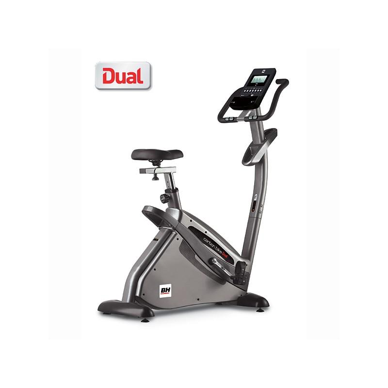 Bicicleta estática BH i.Concept Carbon Bike Dual Kit opcional H8705U